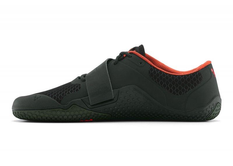 Vivobarefoot MOTUS L Black/ Red (8)