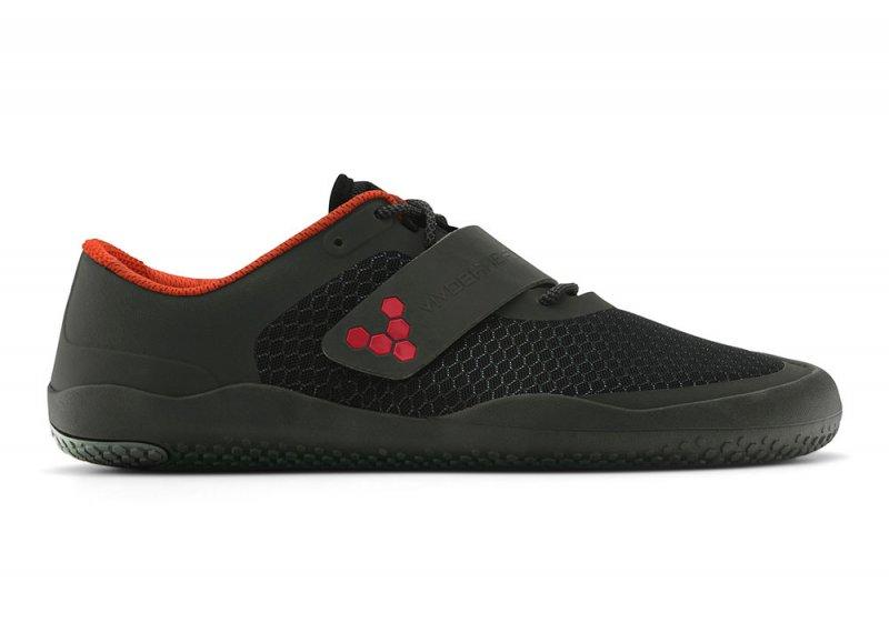 Vivobarefoot MOTUS L Black/ Red (1)