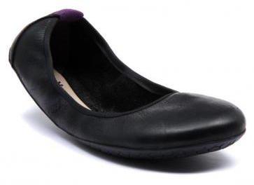 Vivobarefoot JING JING Leather Black/Hide (2)