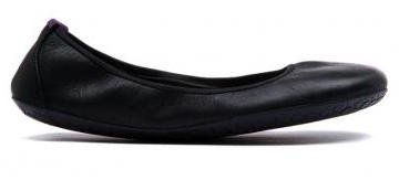 Vivobarefoot JING JING Leather Black/Hide (1)