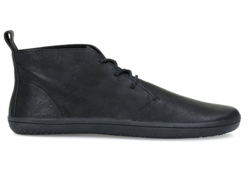 Vivobarefoot  GOBI II M Leather Black/Hide (2)
