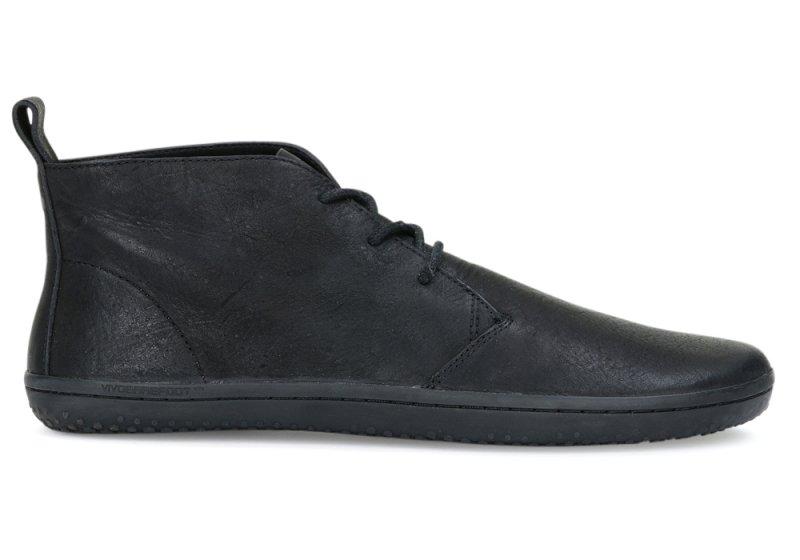 Vivobarefoot  GOBI II M Leather Black/Hide (1)
