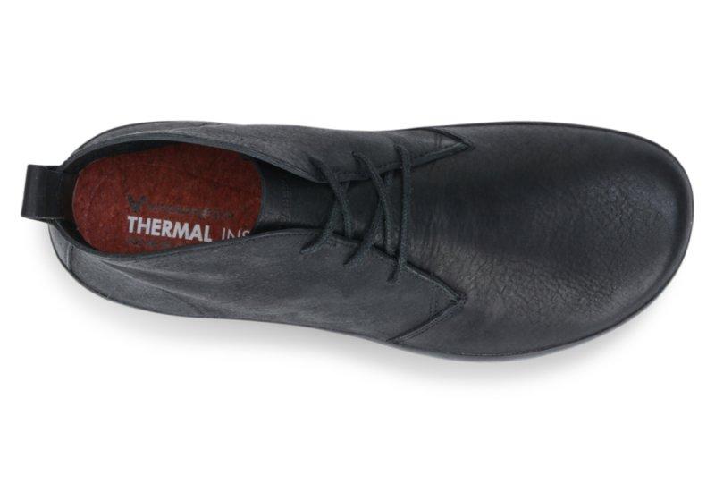 Vivobarefoot  GOBI II M Leather Black/Hide (6)