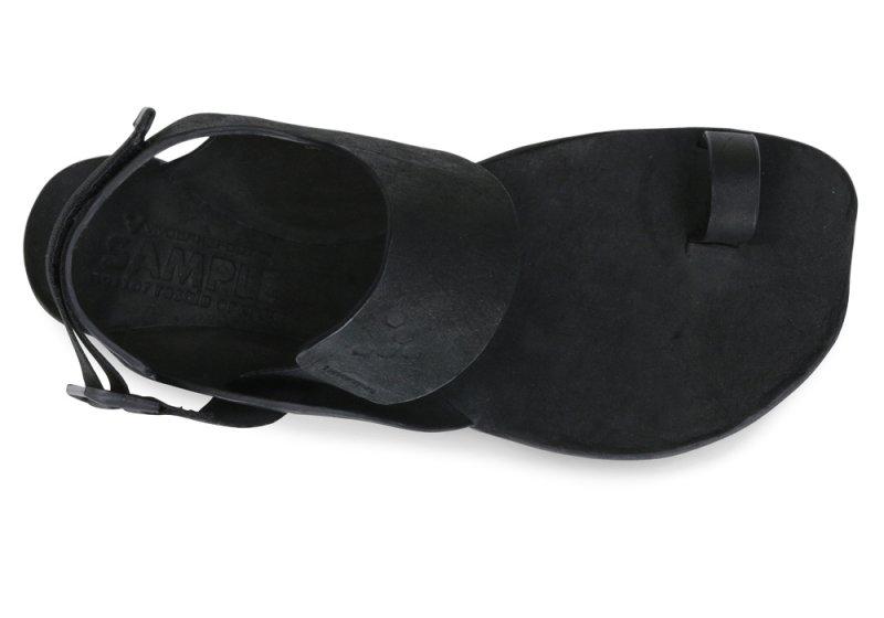 Vivobarefoot  KOLHAPURI L Black/Hide (5)