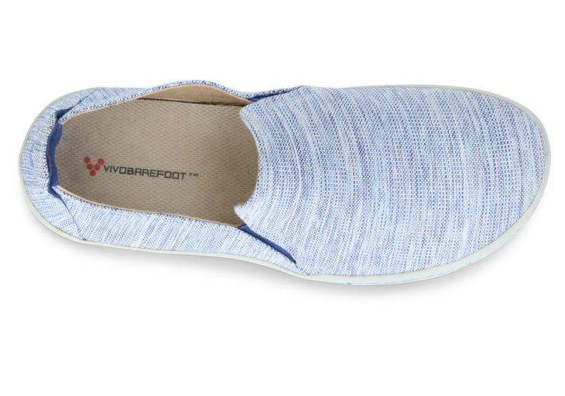 Vivobarefoot  MATA L Canvas Blue (5)