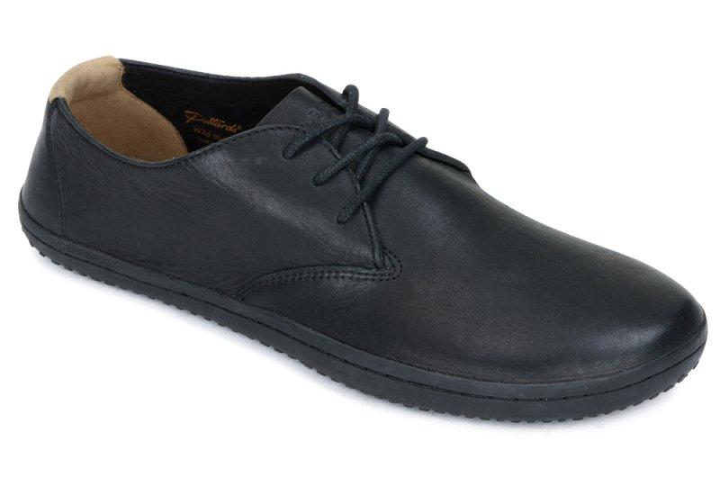 Vivobarefoot  RA II M Leather Black/Hide (4)