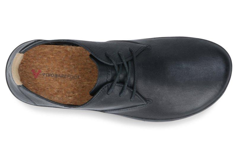 Vivobarefoot  RA II M Leather Black/Hide (6)