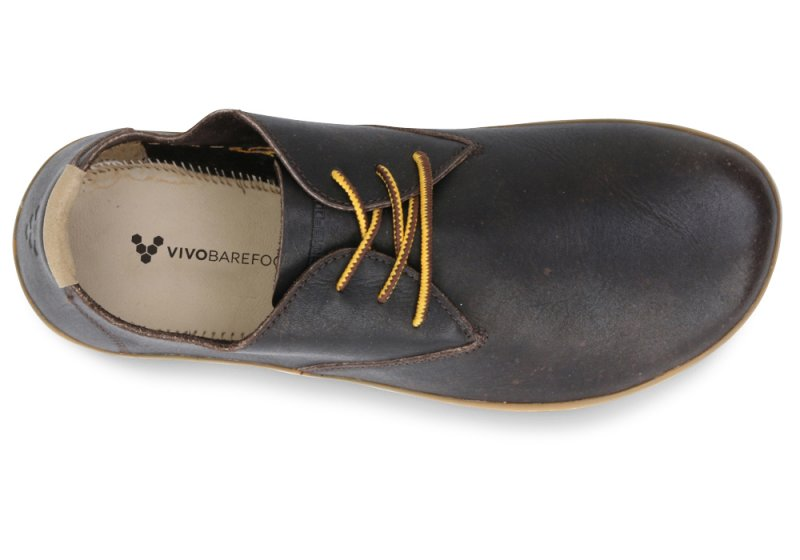 Vivobarefoot  RA II M Leather Brown/Hide (6)