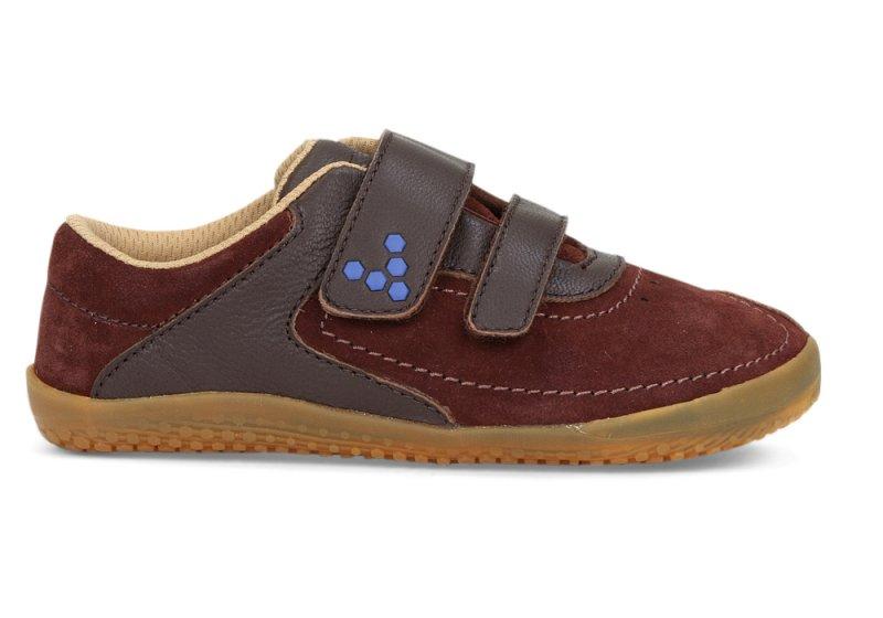 Vivobarefoot  RENO K Leather Brown (1)