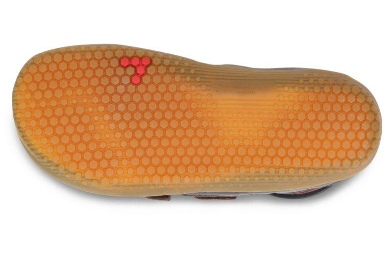 Vivobarefoot  RENO K Leather Brown (4)