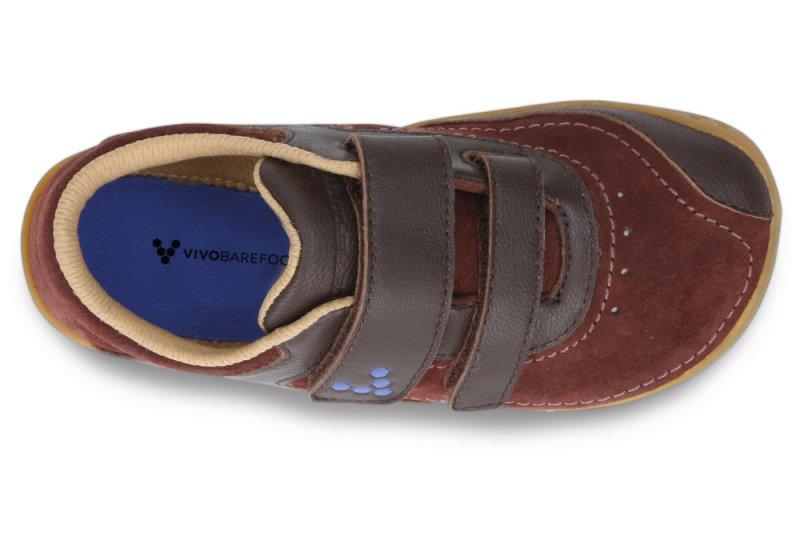 Vivobarefoot  RENO K Leather Brown (5)