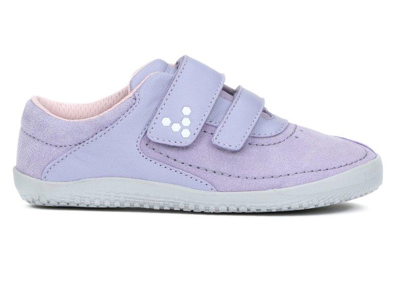 Vivobarefoot  RENO K Leather Violet (1)