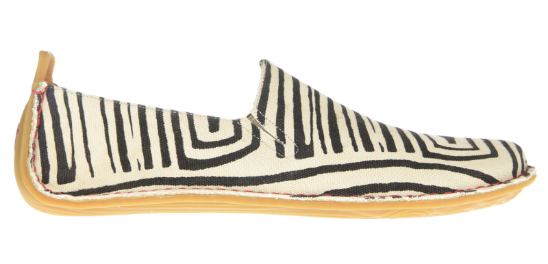 Vivobarefoot ABABA M Canvas Zebra (1)