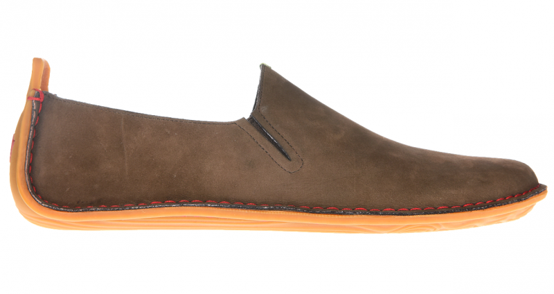 Vivobarefoot ABABA M Leather Brown (1)