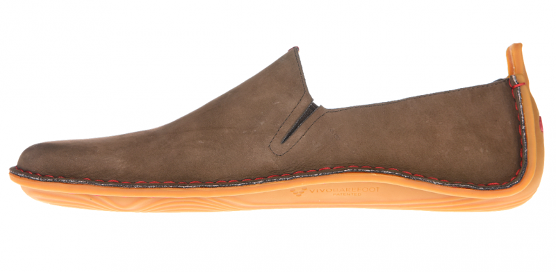 Vivobarefoot ABABA M Leather Brown (4)