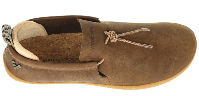 Vivobarefoot ELINA L Leather Chestnut/Hide (5)