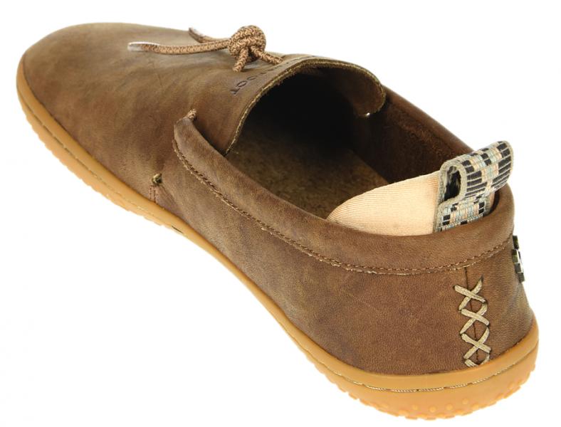 Vivobarefoot ELINA L Leather Chestnut/Hide (6)