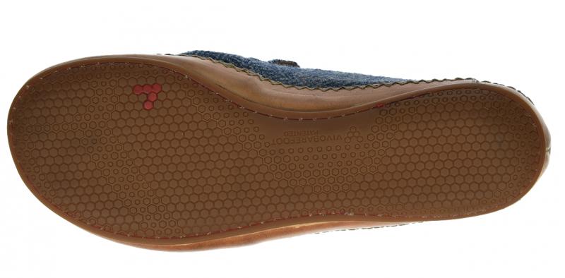 Vivobarefoot OPANKA SLIP M LCC Blue Wool (2)