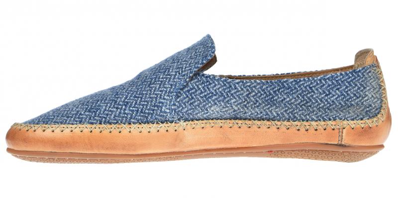 Vivobarefoot OPANKA SLIP M LCC Blue Wool (3)