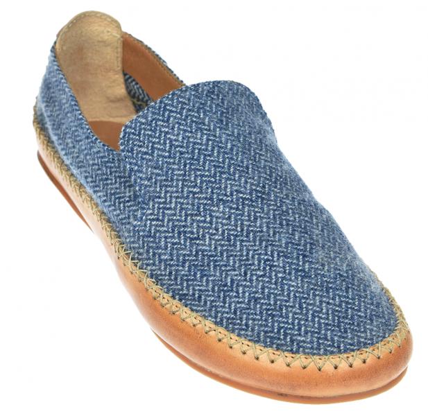 Vivobarefoot OPANKA SLIP M LCC Blue Wool (4)