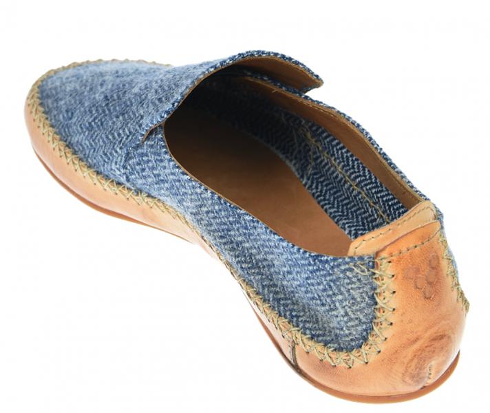 Vivobarefoot OPANKA SLIP M LCC Blue Wool (5)