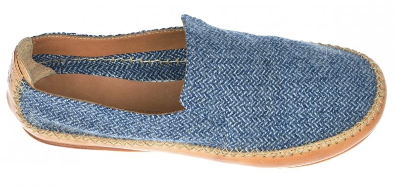 Vivobarefoot OPANKA SLIP M LCC Blue Wool (6)