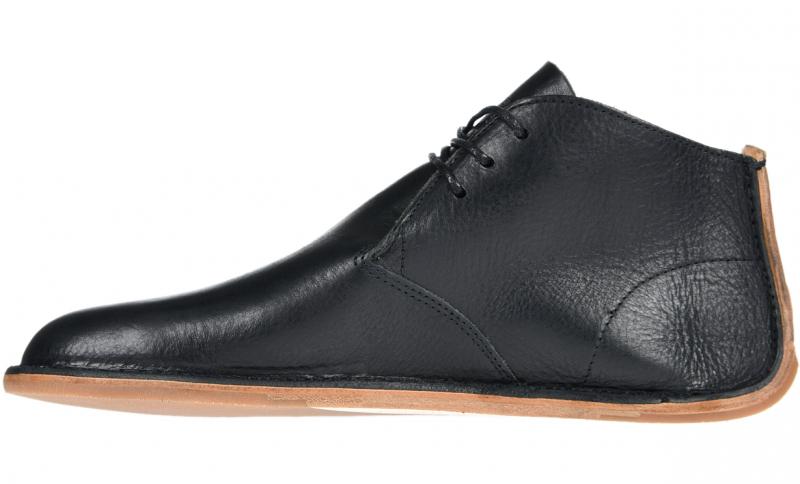 Vivobarefoot  PORTO ROCKER HIGH M Leather Black (2)