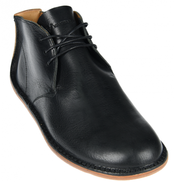 Vivobarefoot  PORTO ROCKER HIGH M Leather Black (3)