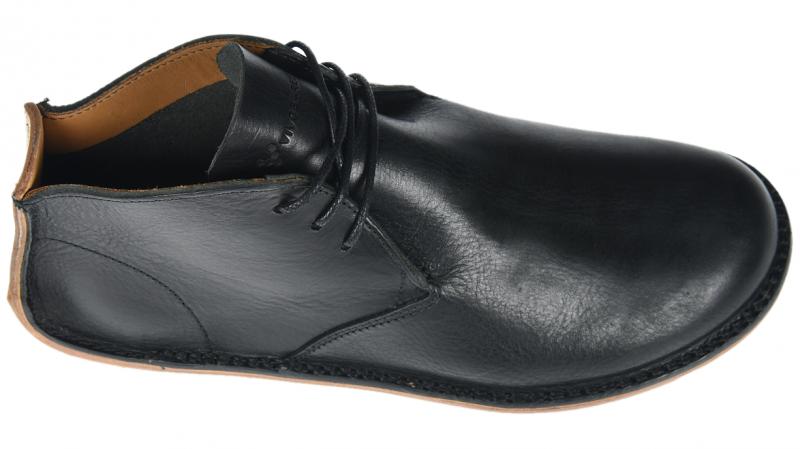 Vivobarefoot  PORTO ROCKER HIGH M Leather Black (5)