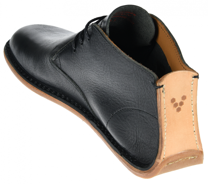 Vivobarefoot  PORTO ROCKER HIGH M Leather Black (6)