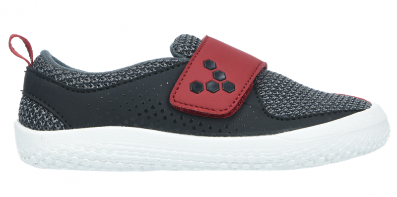 Vivobarefoot MINI PRIMUS K Mesh Black/Red (1)