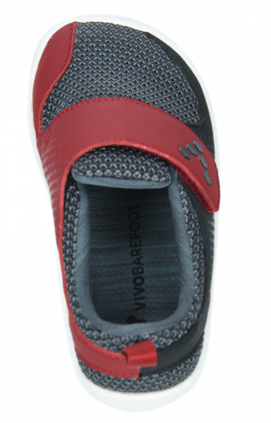 Vivobarefoot MINI PRIMUS K Mesh Black/Red (7)