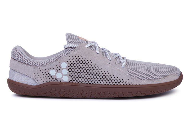 Vivobarefoot PRIMUS TRIO L Leather Grey (1)