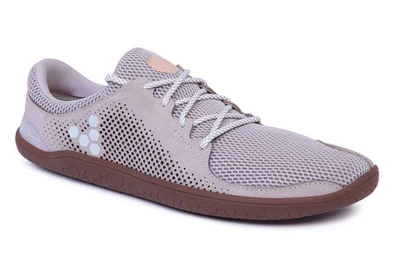 Vivobarefoot PRIMUS TRIO L Leather Grey (2)