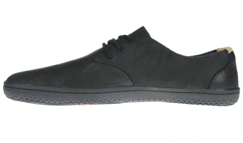Vivobarefoot RA J Leather Black/Hide (2)
