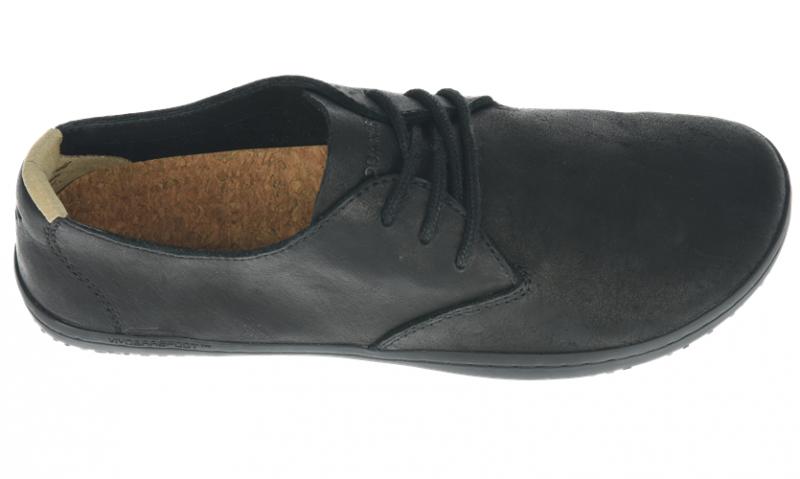 Vivobarefoot RA J Leather Black/Hide (5)