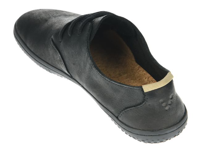 Vivobarefoot RA J Leather Black/Hide (6)
