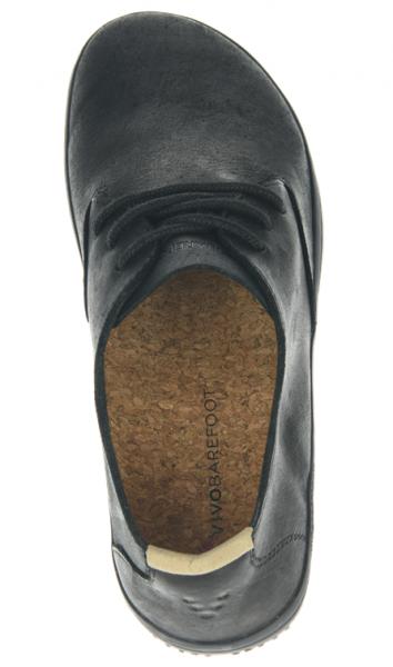 Vivobarefoot RA J Leather Black/Hide (7)