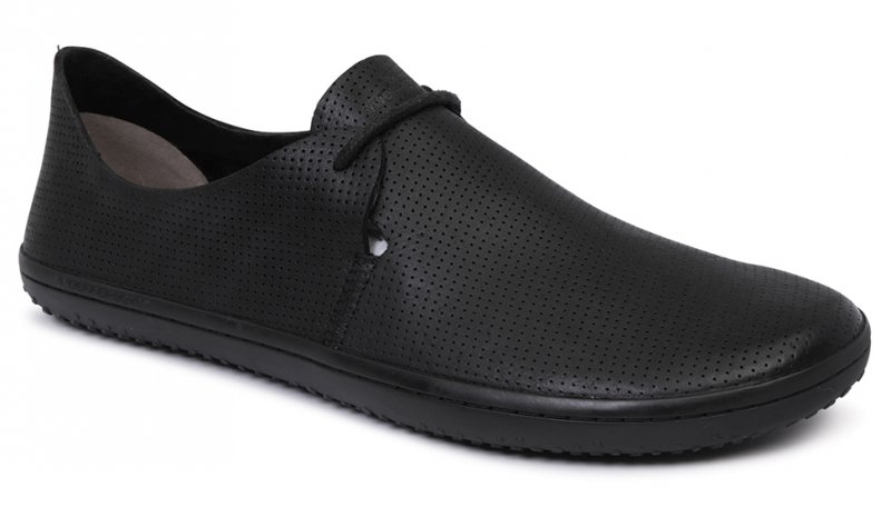 Vivobarefoot RIF L Leather Black/Hide (2)