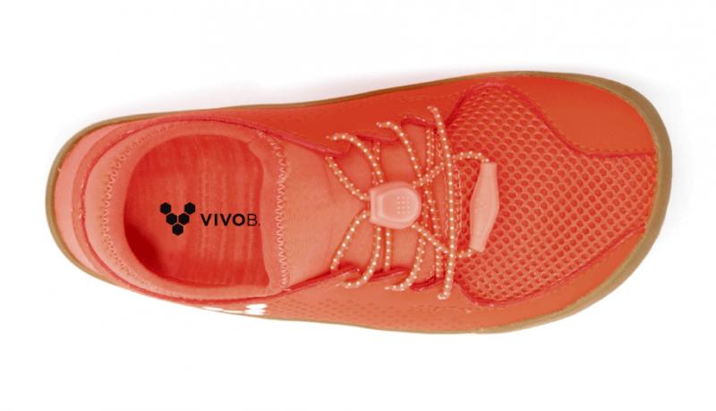 Vivobarefoot  PRIMUS K Mesh Neon Red (5)