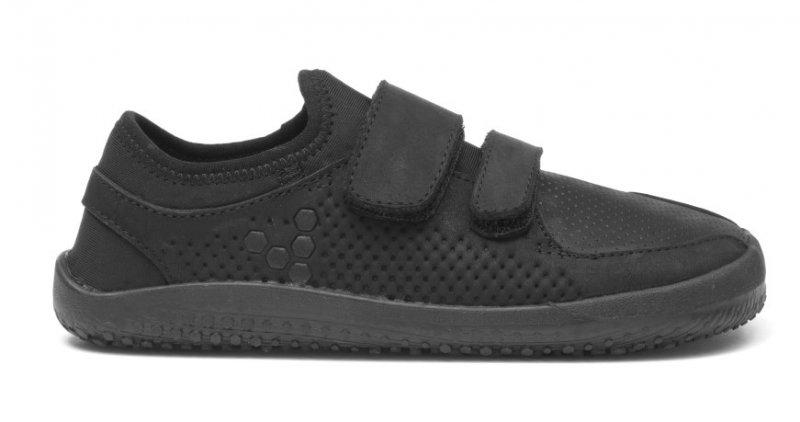 Vivobarefoot  PRIMUS STRAP K Leather Black (1)