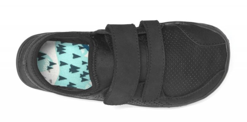 Vivobarefoot  PRIMUS STRAP K Leather Black (5)