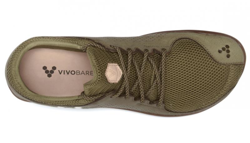 Vivobarefoot PRIMUS TRIO M Leather Olive (5)