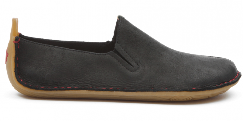 Vivobarefoot ABABA L Leather Black (1)