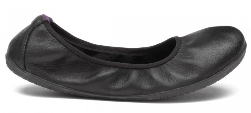 Vivobarefoot  JING JING 2 L Leather Black/Hide (1)