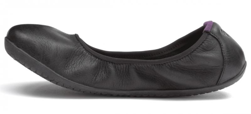 Vivobarefoot  JING JING 2 L Leather Black/Hide (3)