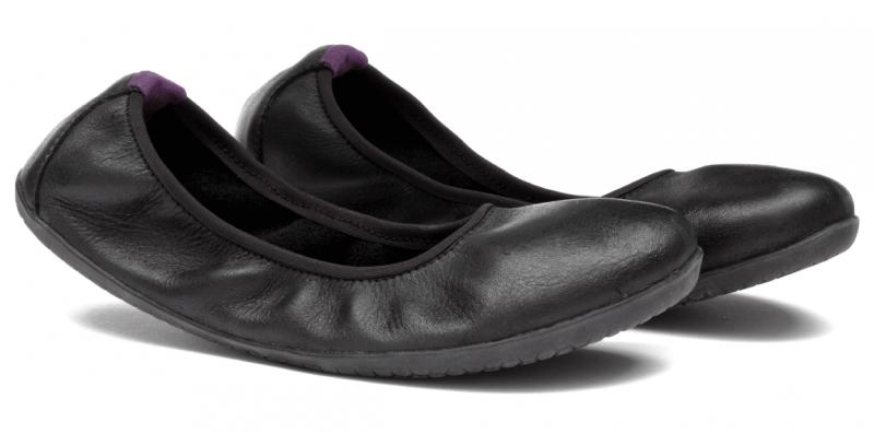 Vivobarefoot  JING JING 2 L Leather Black/Hide (4)