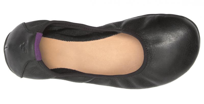 Vivobarefoot  JING JING 2 L Leather Black/Hide (5)