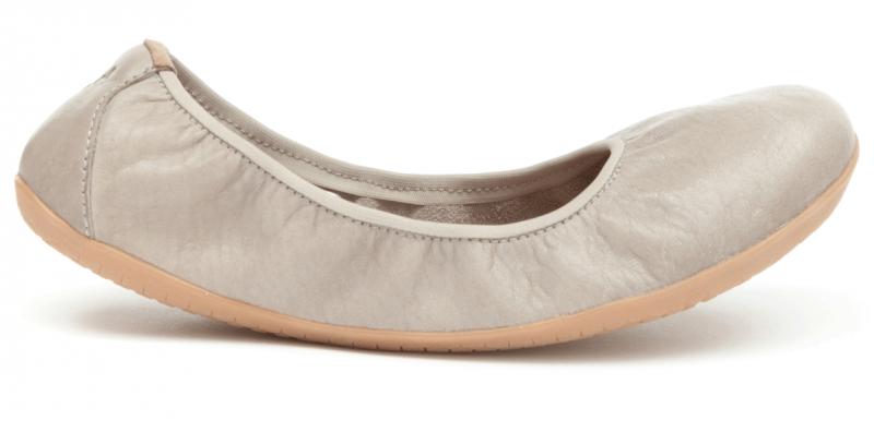 Vivobarefoot JING JING L Leather Cobblestone (1)