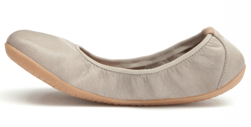 Vivobarefoot JING JING L Leather Cobblestone (3)